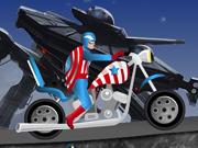 Capitán América Harley Ride