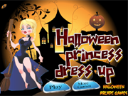 De Halloween Princess Dress Up
