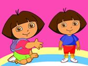 Feliz Dora para colorear