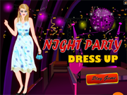 Night Party Dress Up