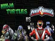 Tortugas Ninja Vs Power Rangers