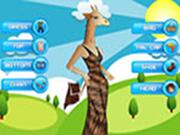 El cuidado de mascotas de Peppy – Sra jirafa
