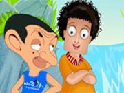 Sam con Mr.Bean Vestir