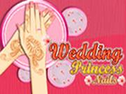 Princesa Wedding Nails