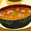 Sopa de camarón asiático
