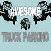 Impresionante aparcamiento de camiones