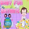 Diversión del bebé Baño