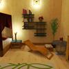 Escape de bambú de habitaciones