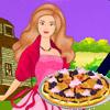 Barbie caramelo pizza