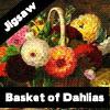 Cesta de Dalias Jigsaw