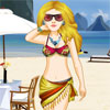 Beach Bikini Babe