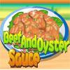Carne de vaca y salsa de ostras