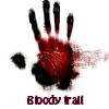 Rastro de sangre. Encuentra objetos