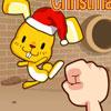 Conejo de rebote Navidad