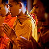 Monjes budistas Jigsaw