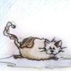 El gato y el globo