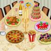 Decoración Cena colorido