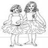 Coloring Ballet -1