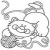 Coloring Cats -2