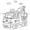 Coloring Emergency vehicles -1