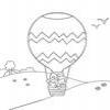 Coloring Hot air ballons -1