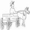 Coloring Miscellaneous vehicles -1 – Carriage