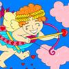 Cupido el amor Dador colorear