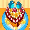 Torta linda del corazón