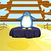 Pingüino lindo de Escape