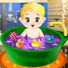 Diario baño del bebé