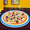 Deliciosa pizza Decoración