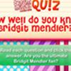 DM Cuestionario: ¿Conoce Bridget Mendler?