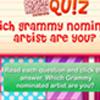 DM Cuestionario: ¿Qué artista nominado al Grammy es usted?