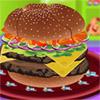 Doble Cheeseburger Decorador