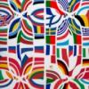 Bandera Europea deslizante