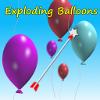 La explosión de globos