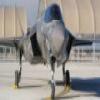 F-35 Lightning deslizante