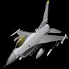 F16 deslizante