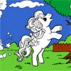 Fancy Pony para colorear