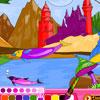 Fantasía para colorear juego