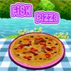 Pescado pizza