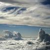 Volar en las nubes