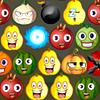 Caras de la fruta