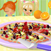 Fruity Postre pizza