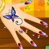 Gel de uñas de manicura