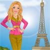 Chica visita París
