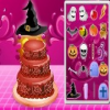 De Halloween Cake Decor