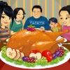 Invitando a Acción de Gracias