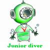 Buceador junior 5 diferencias