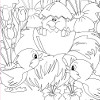 Kid's coloring: I little surprise for You